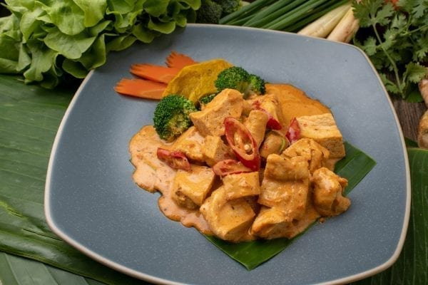 Red Curry With Organic Tofu