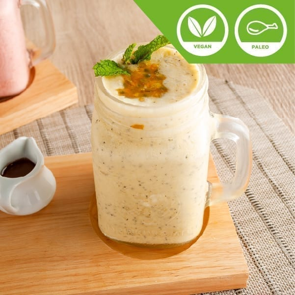 Passion Fruit Coconut Banana Smoothie
