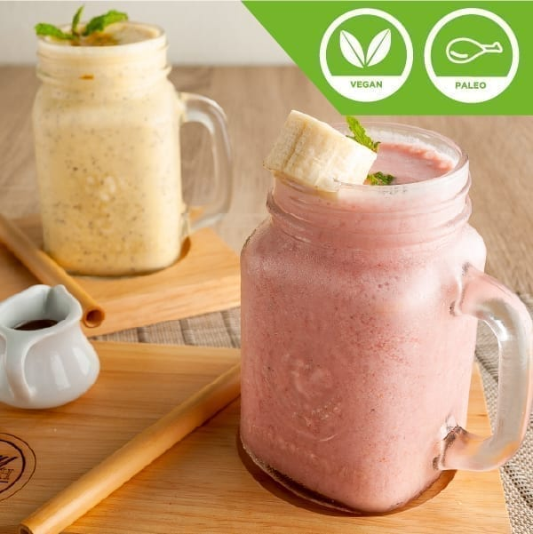 Yogurt Banana Strawberry Smoothie