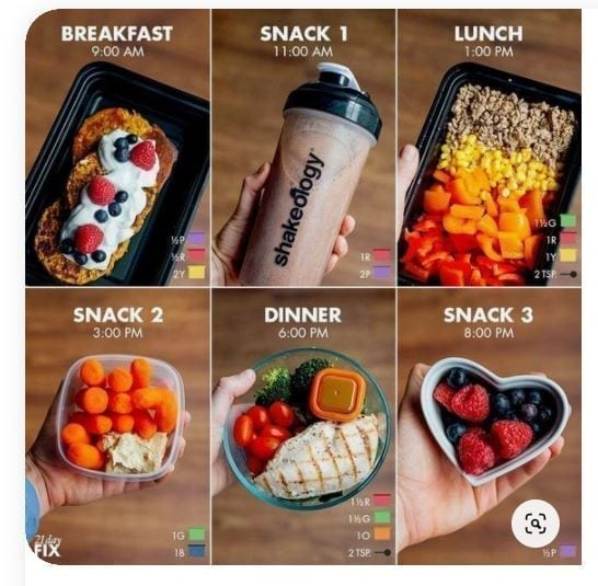 5 days 1500 cal package A